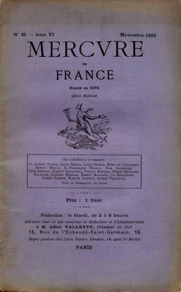 le-mercure-de-france